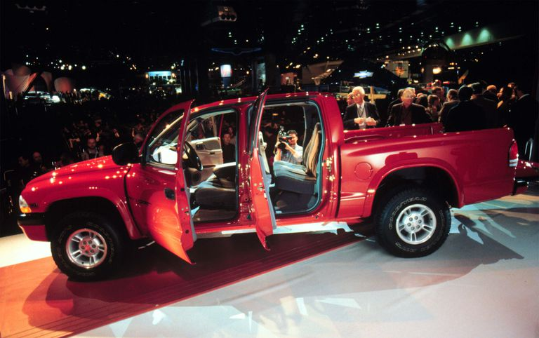 The New Dodge Dakota Quad Cab Was Unveiled