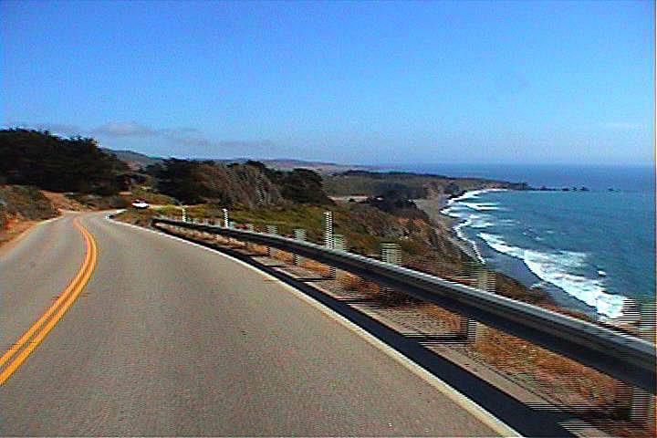 Screen shot from Bike-O-Vision's DVD from California Coast
