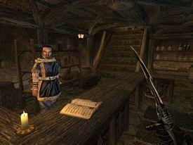 Morrowind vendor