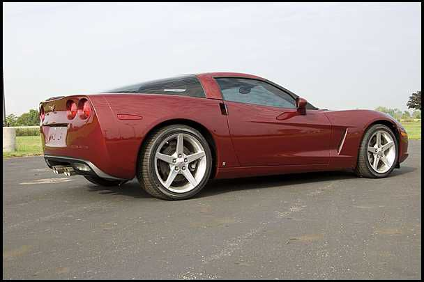 Best Replacement Tires for a C6 Corvette