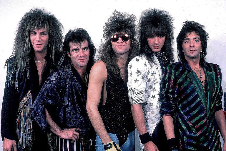 Bon Jovi portrait