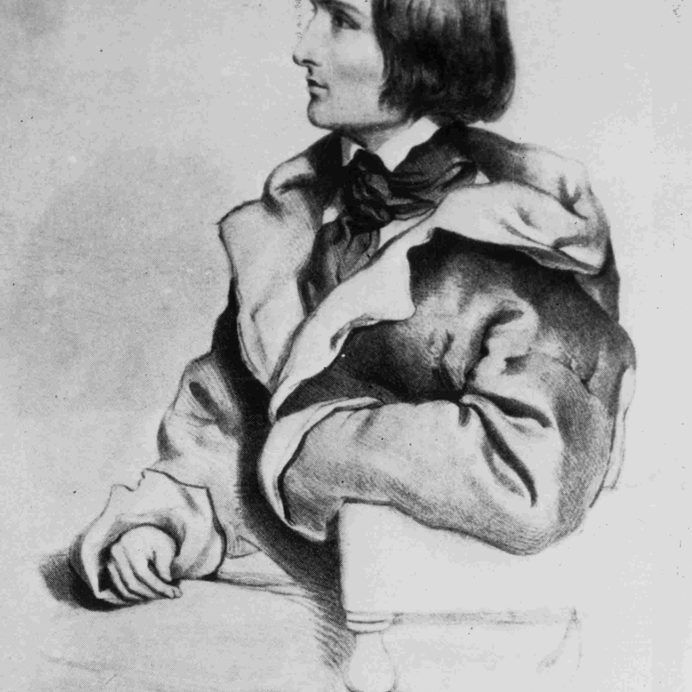 Hungarian composer and pianist Franz Liszt (1811 - 1886)