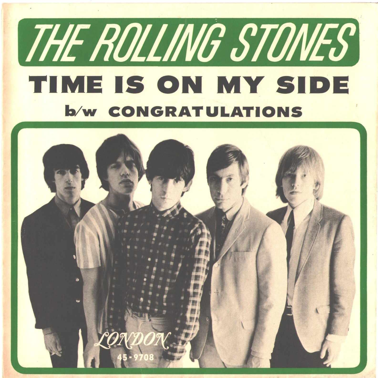 Rolling Stones Time Is On My Side