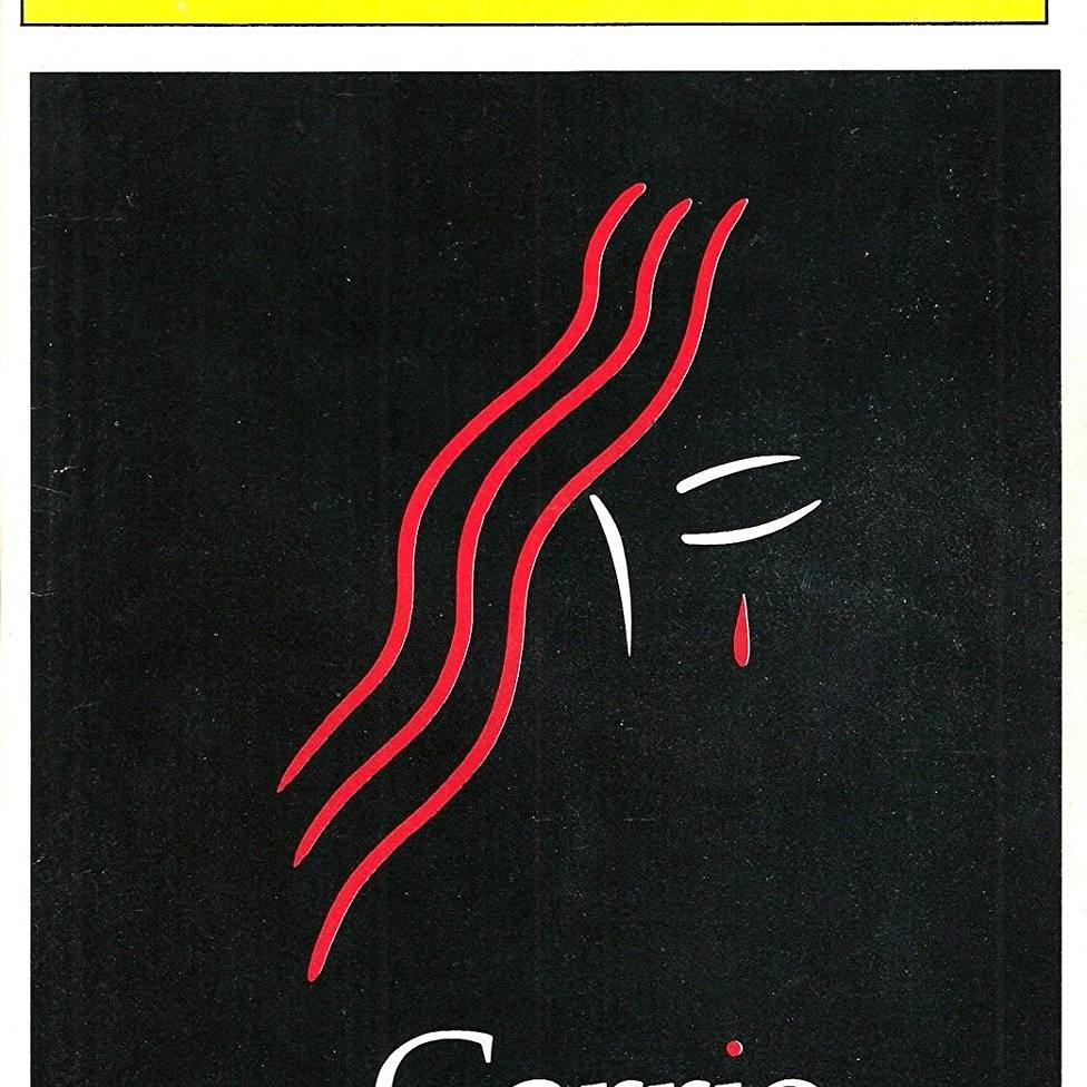 Carrie Playbill cover