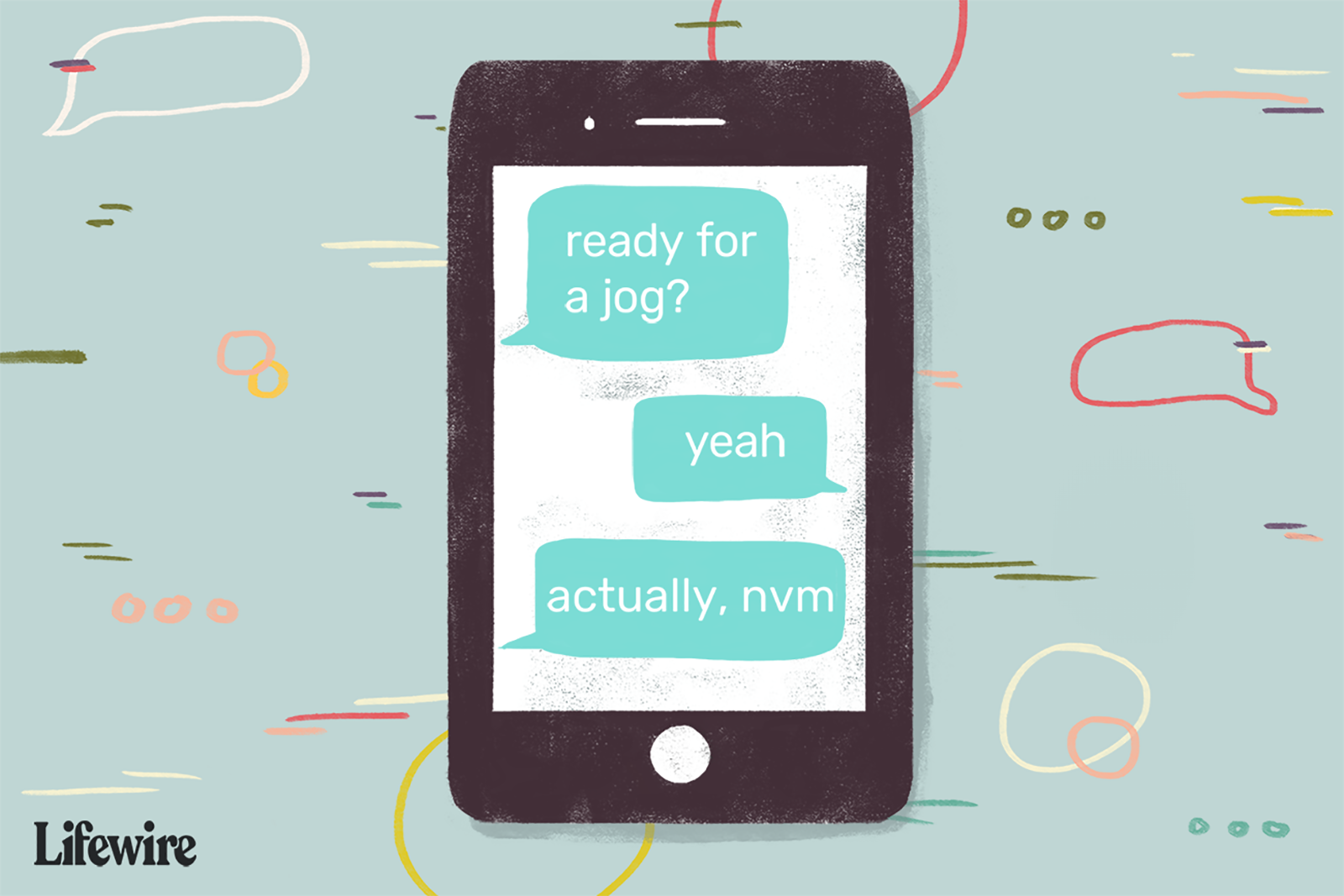 And illustration showing how 'nvm' is used.