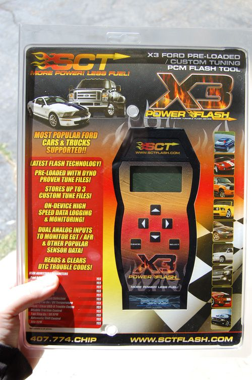 Review of SCT X3 Power Flash Programmer