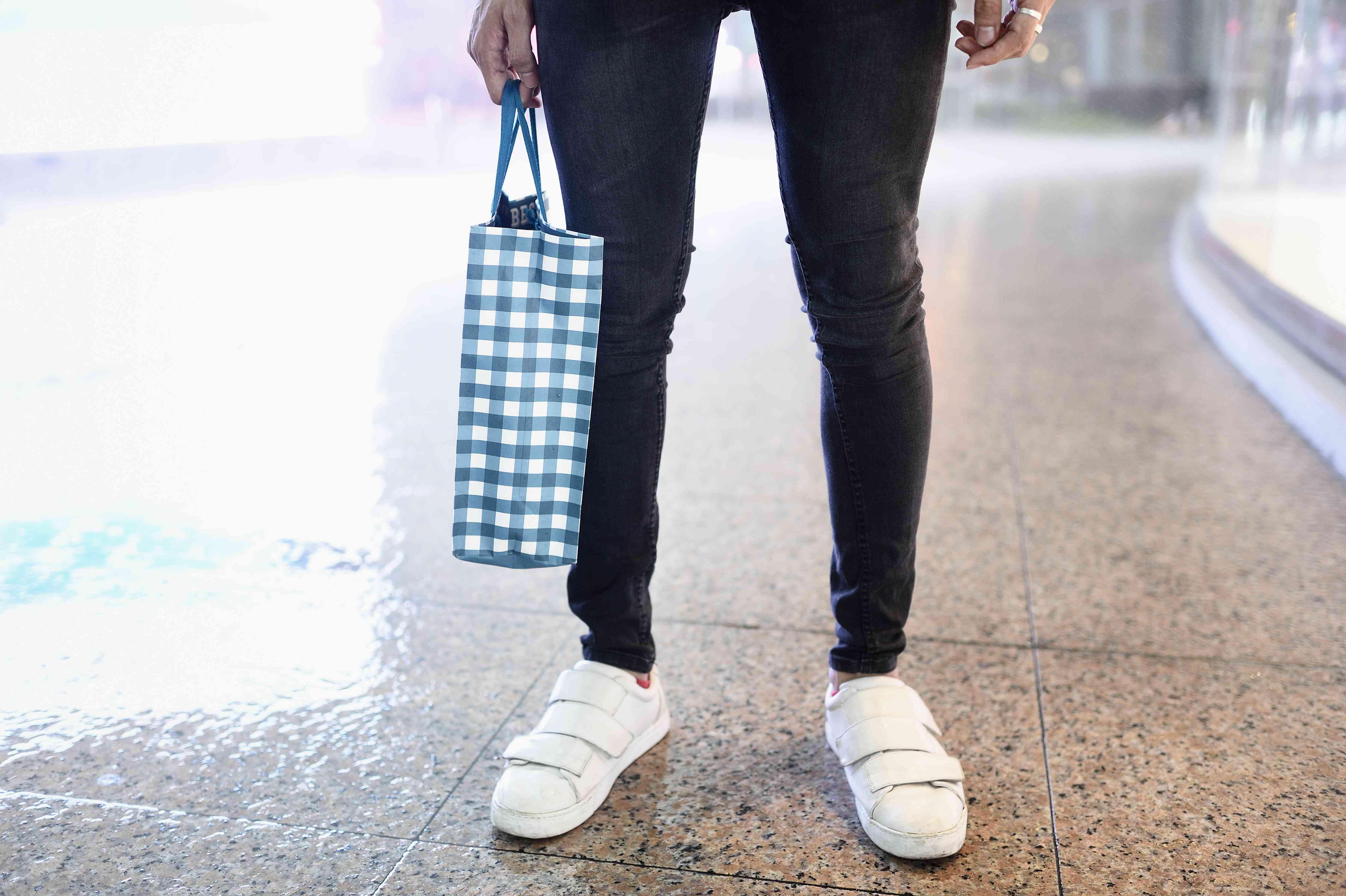 fashionable man's wearing skinny jeans