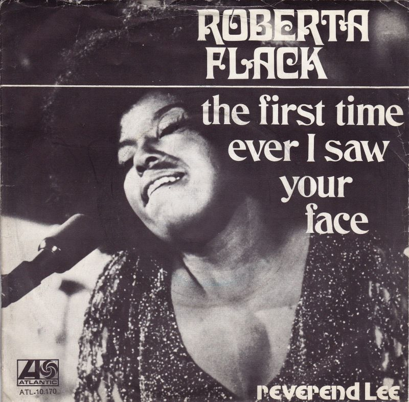 Roberta Flack The First Time Ever I Saw Your Face