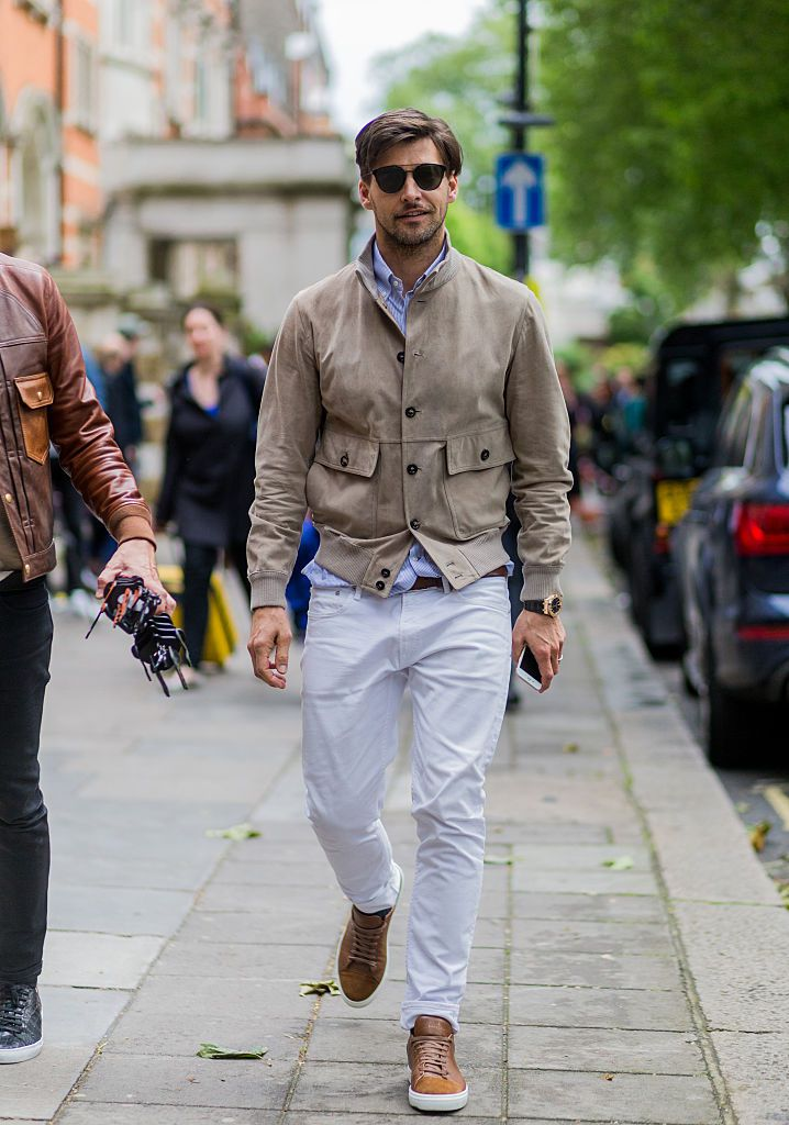 5e80ad298ab03a Men s Fashion Trend - How to Wear White Jeans for Men