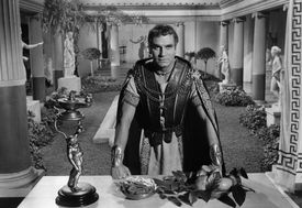 Laurence Olivier In 'Spartacus'