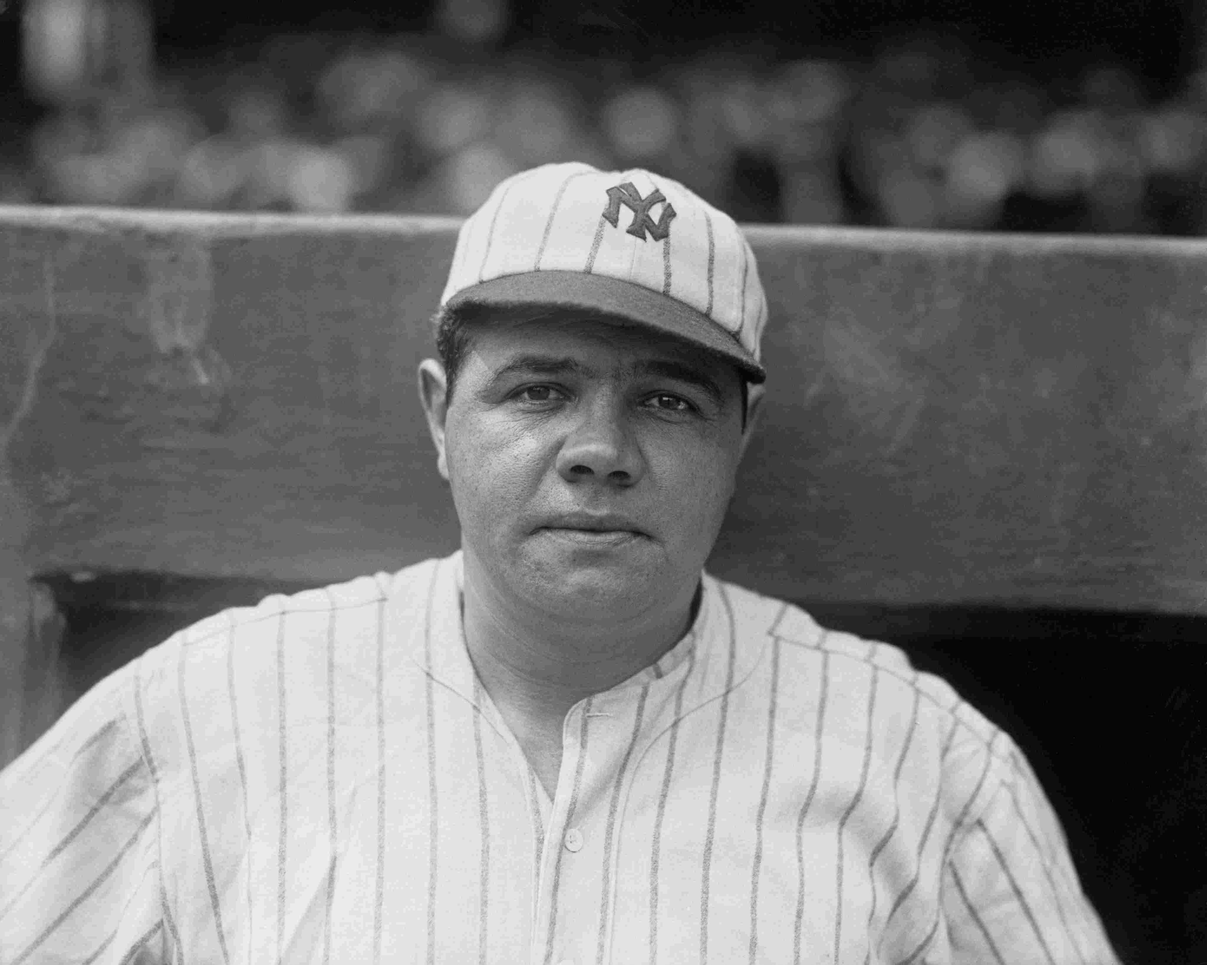 Portrait of Babe Ruth
