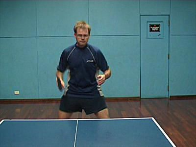 Photo of BH Sidespin Serve - Return to Ready Position