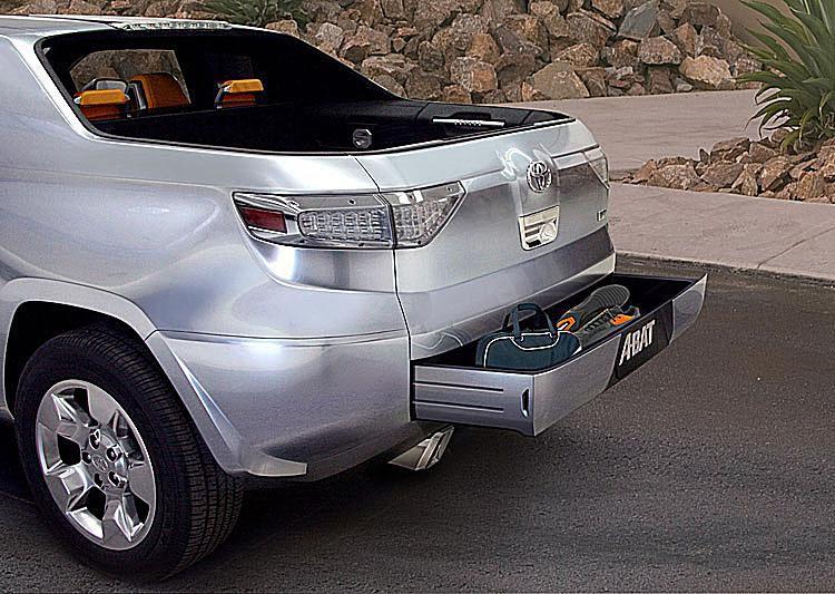 Toyota A-BAT Concept Truck Tailgate Storage