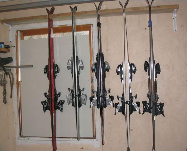 Hang the Ski Rack
