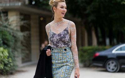 0a16b22ef87 Street Style : Day Four Paris Fashion Week Spring/Summer 2017