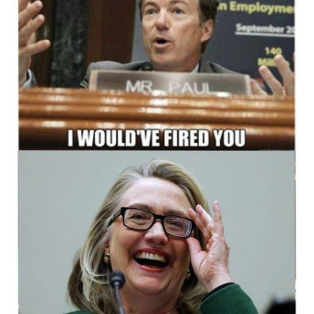 Hillary Clinton vs. Rand Paul