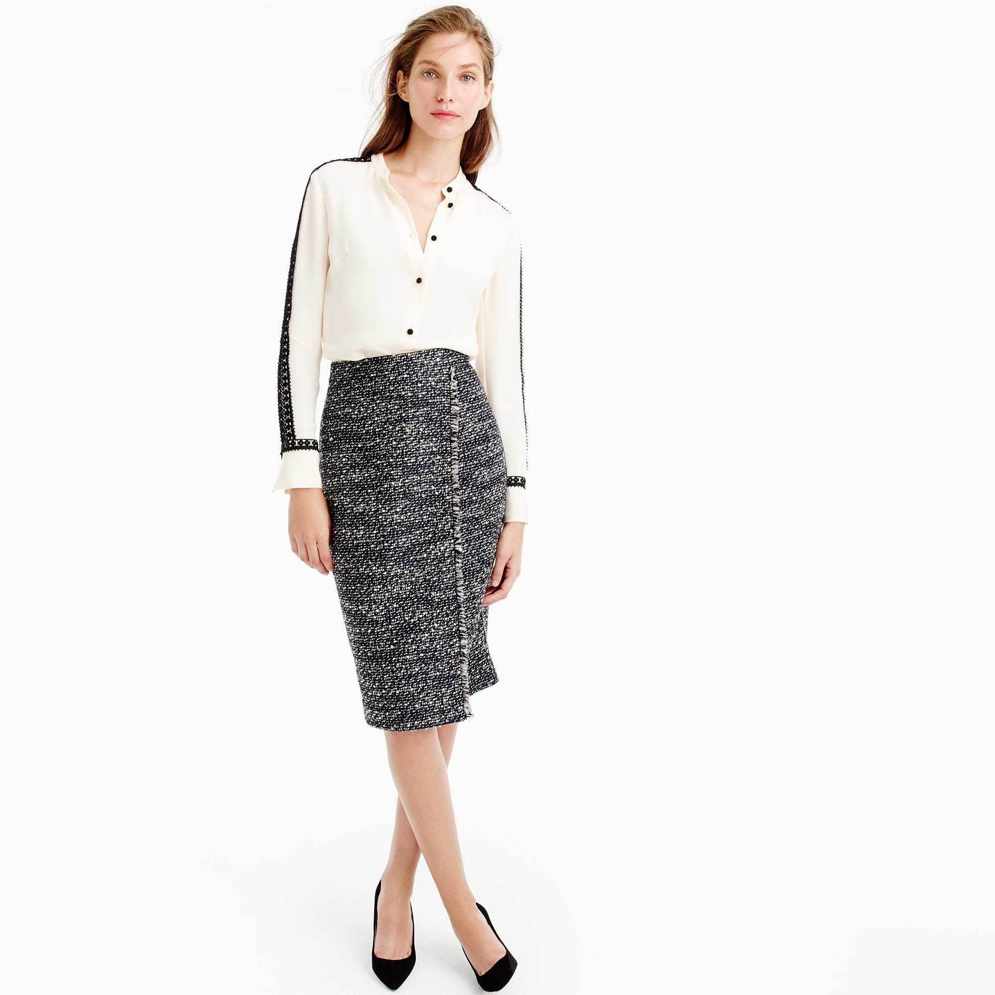 a1ac6d1dbb 10 Fresh Ways to Wear a Pencil Skirt