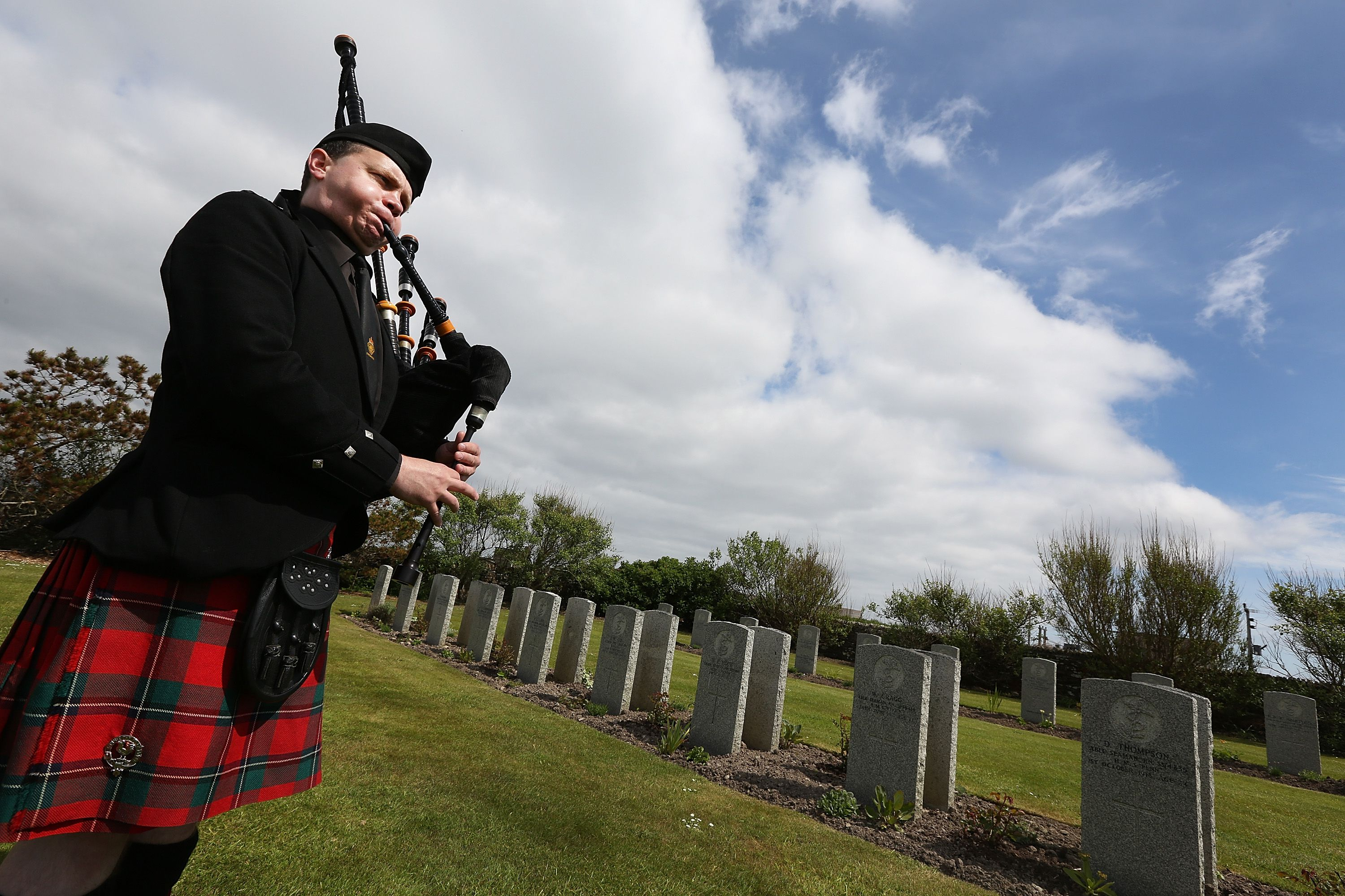 Why Bagpipes Are Played at Funerals