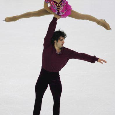 2007 World Junior Pair Champions Keauna McLaughlin and Rockne Brubaker