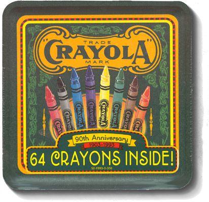 90th Anniversary of Crayola Crayons-1993