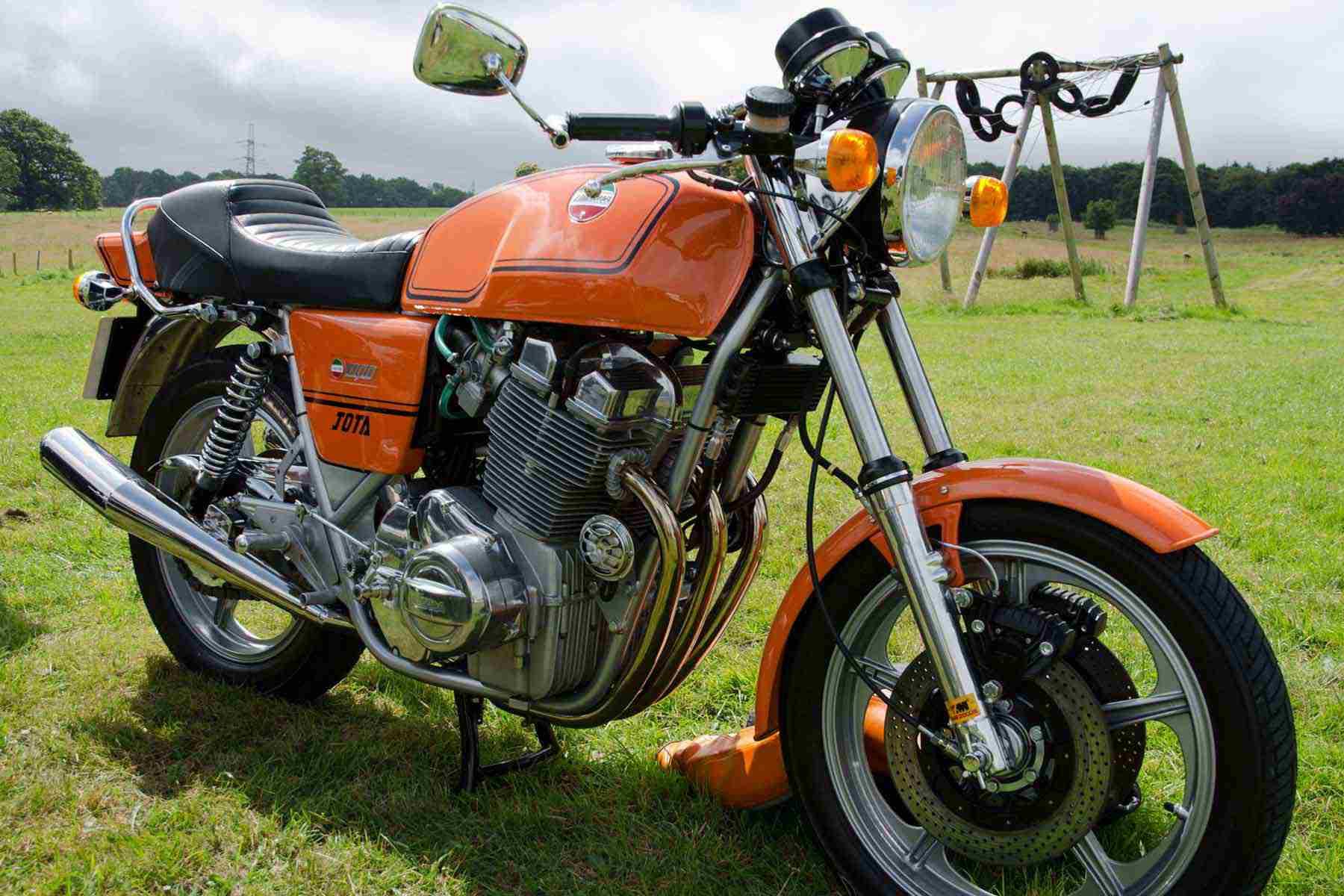 A 1981 Laverda Jota 1000.