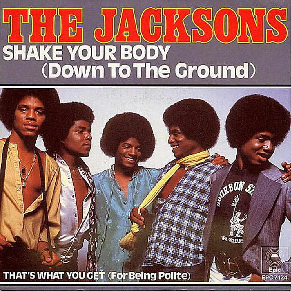 """""""Shake Your Body (Down to the Ground)"""" was a single off of the album Destiny by The Jacksons"""