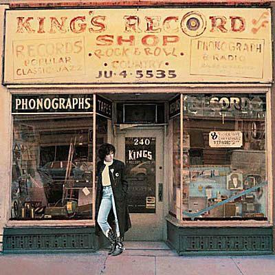 king's record shop album cover