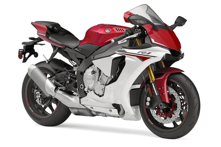 The 2015 Yamaha R1.
