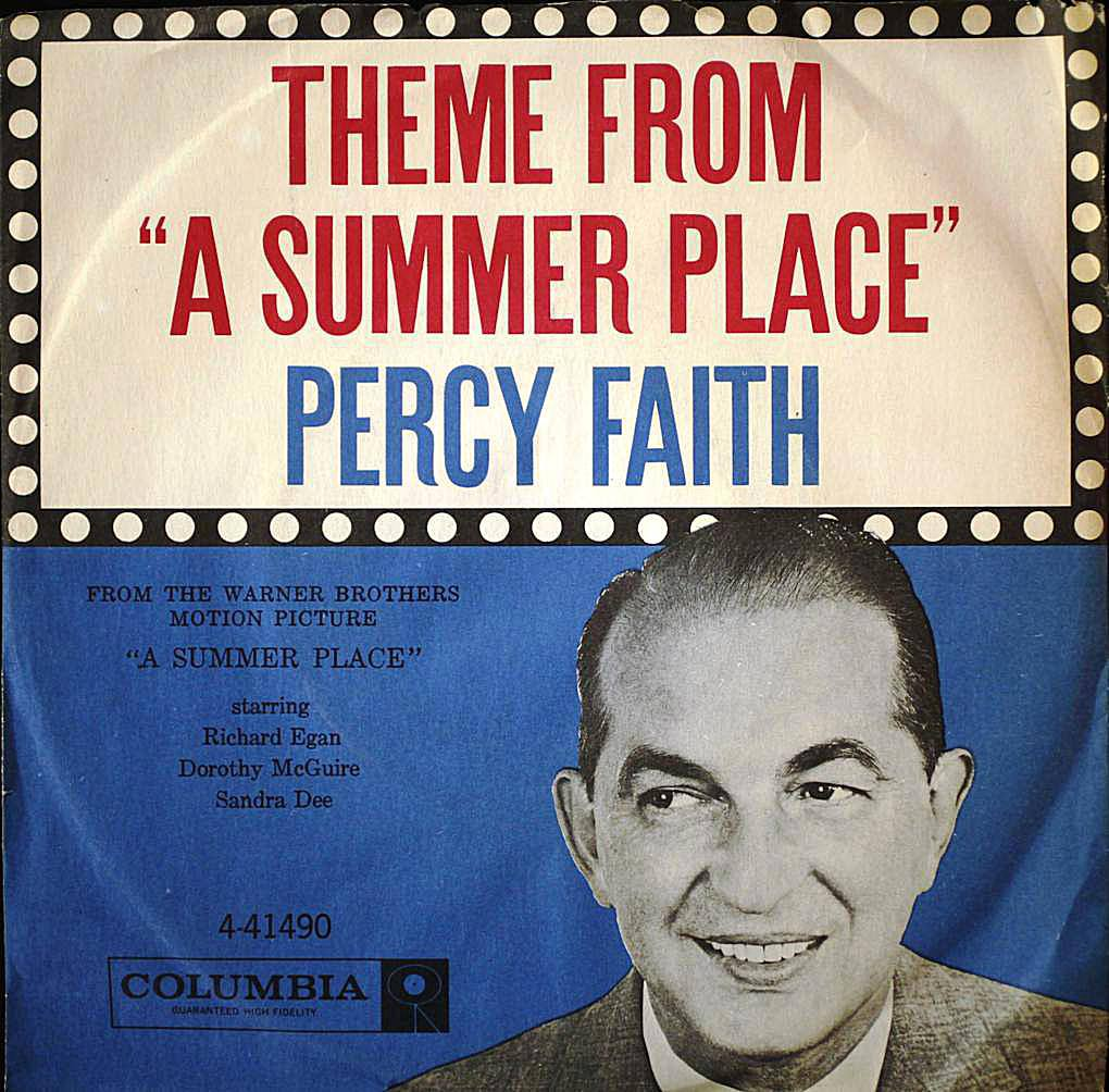 Theme From a Summer Place 45 cover