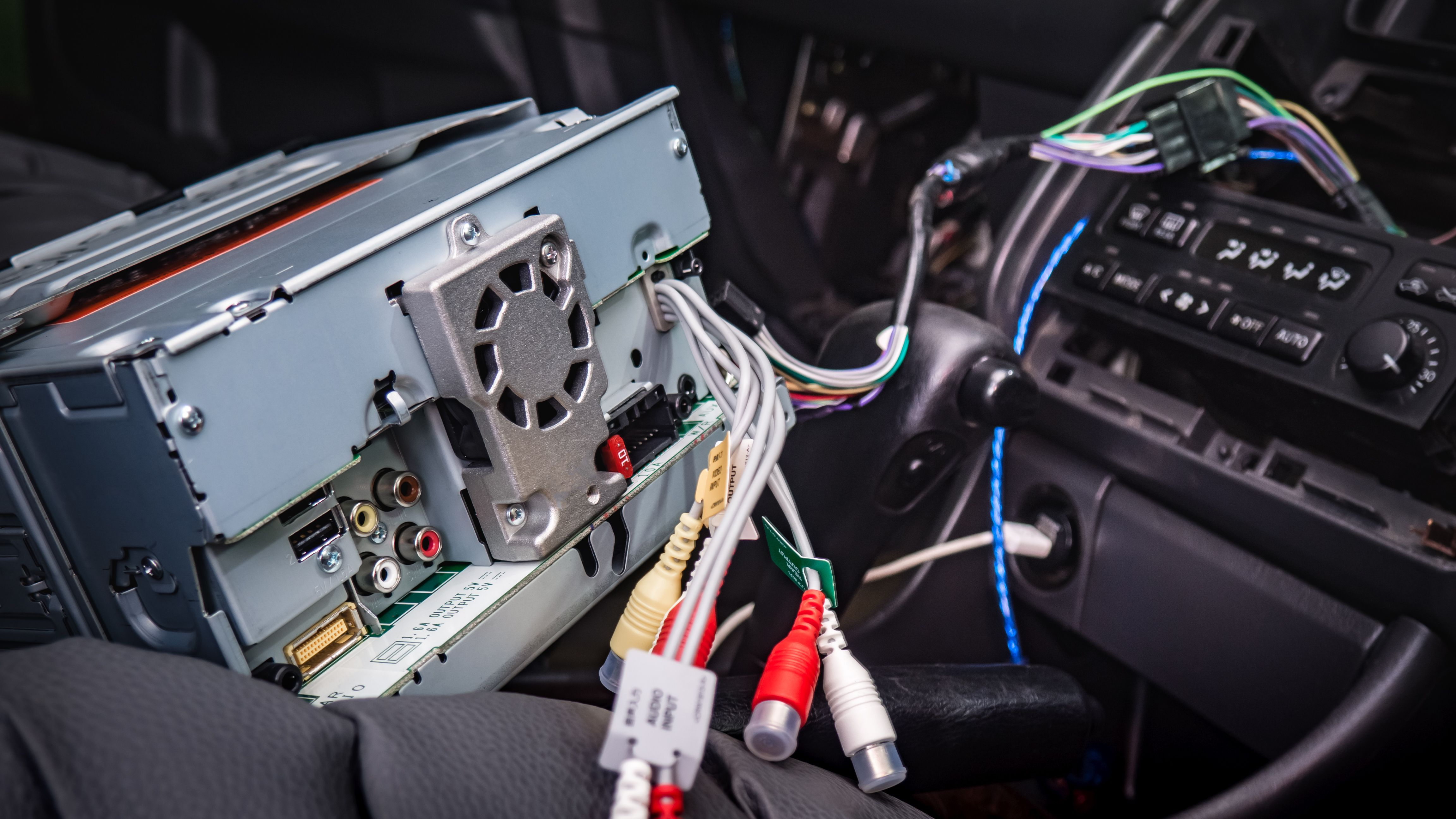 ground wires and install your own car stereo  liveabout