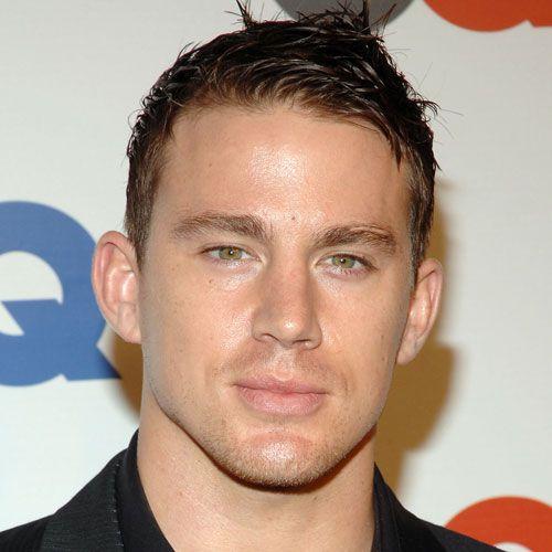 Channing Tatum's Wet Textured Style