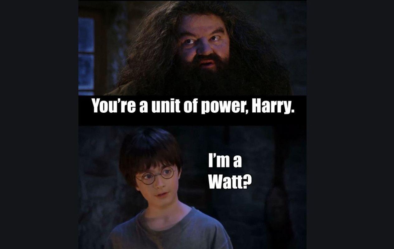 Harry potter watt meme
