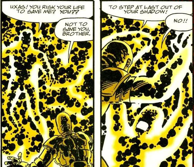 Comic panel from Jack Kirby's Fourth World #2-5