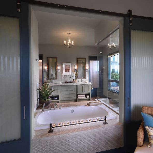 Photos of the 2010 HGTV Dream Home - Master Bathroom in the HGTV Dream Home