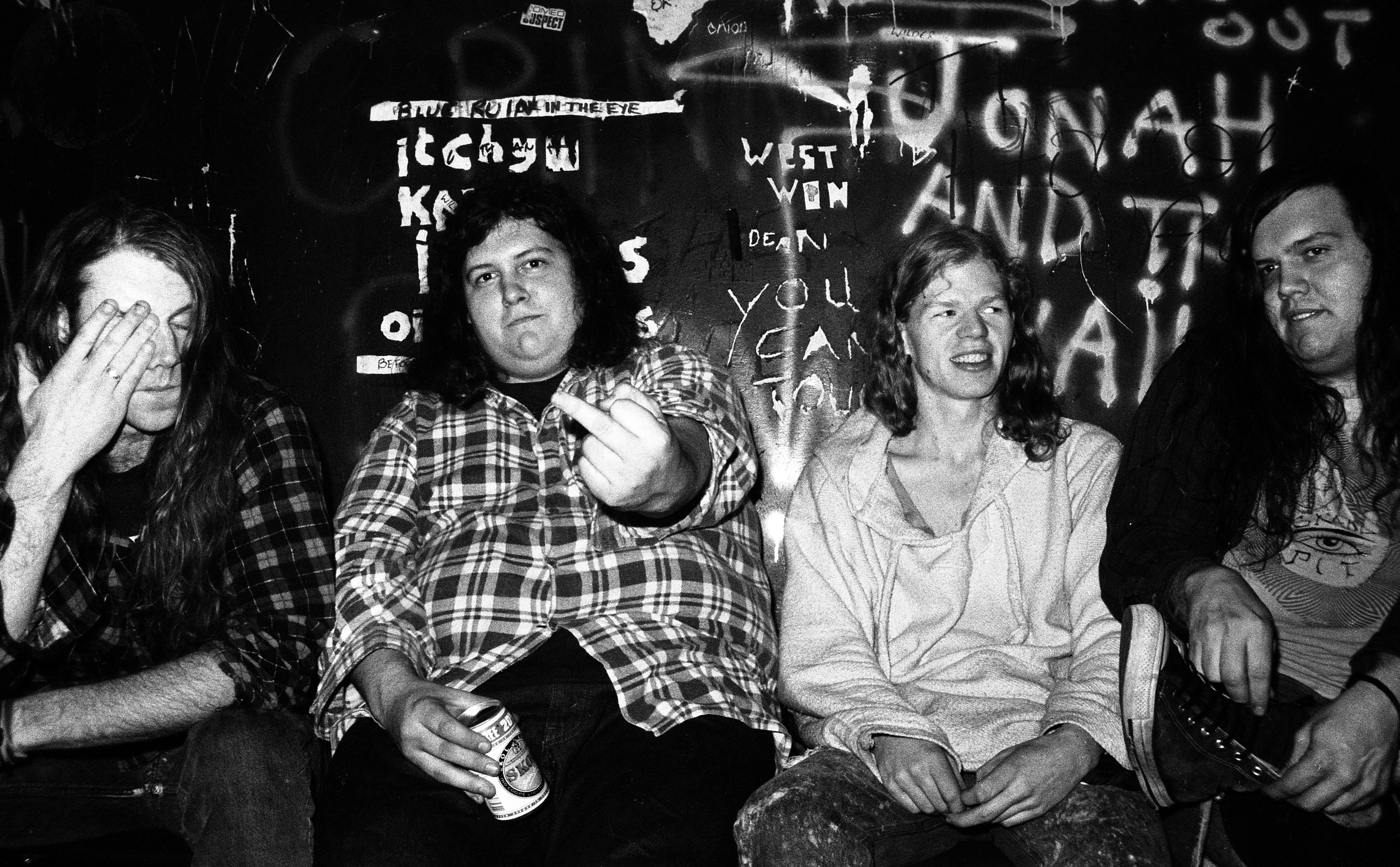 Screaming Trees Back Stage Fulham Greyhound London 1989