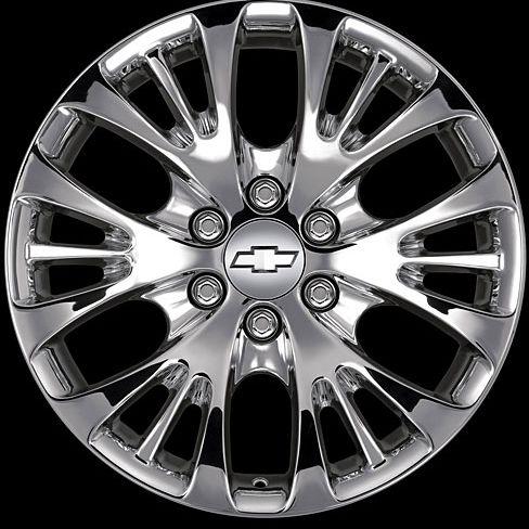 2007 chevy silverado truck accessory chrome wheel