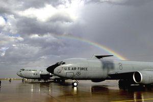 U.S. Aircraft At Moron , Spain Airbase
