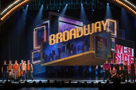 The West Side Story cast at the 2009 Tony Awards
