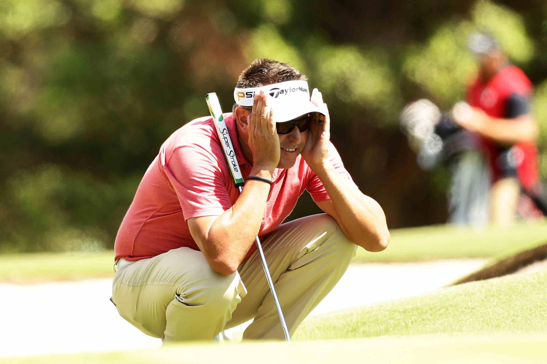 Golfer Robert Allenby pictured in 2016
