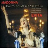 Madonna's Don't Cry For Me Argentina cover