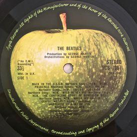Apple Records Label UK