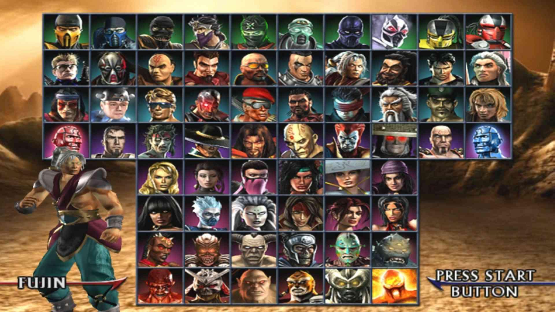 Mortal Kombat: Armageddon PS2 Fatalities Cheats