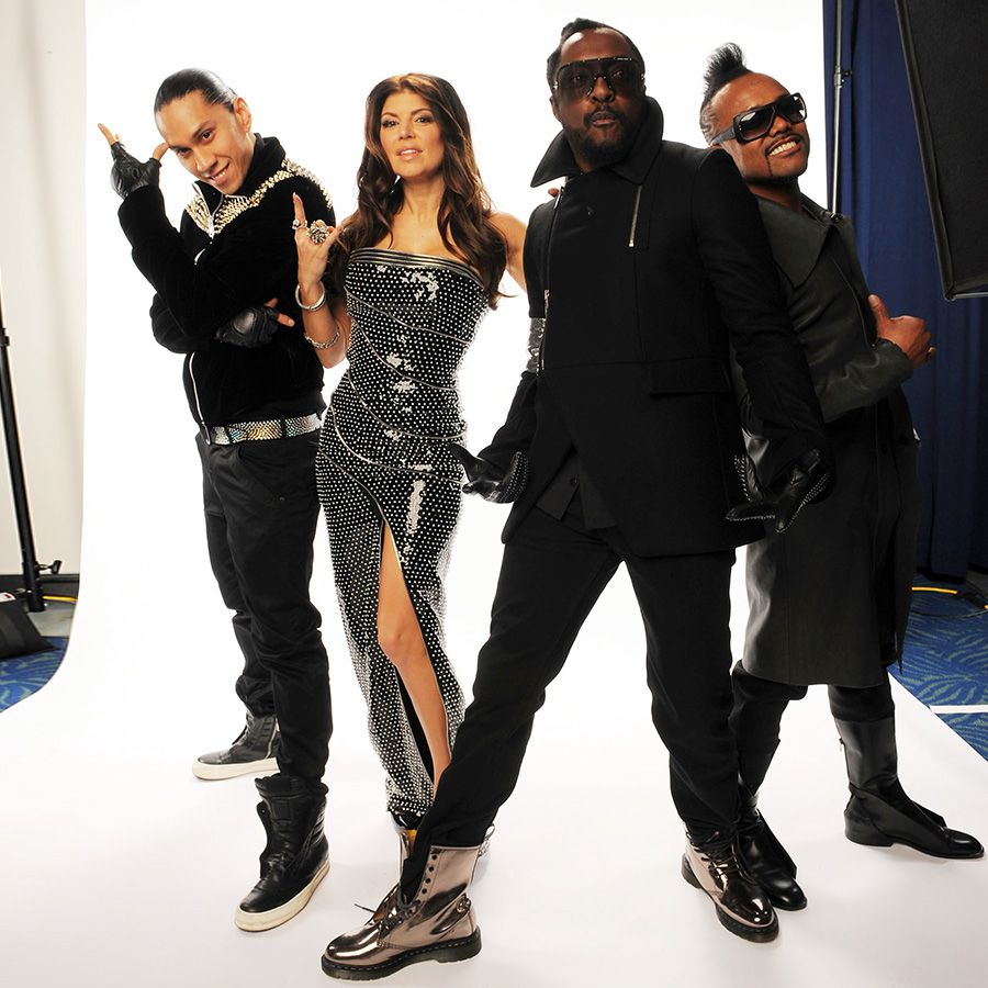 The Black Eyed Peas at a photoshoot