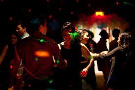 People dancing the bachata