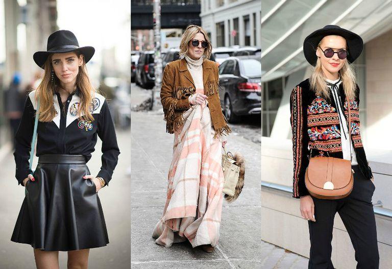 Street style Western fashion