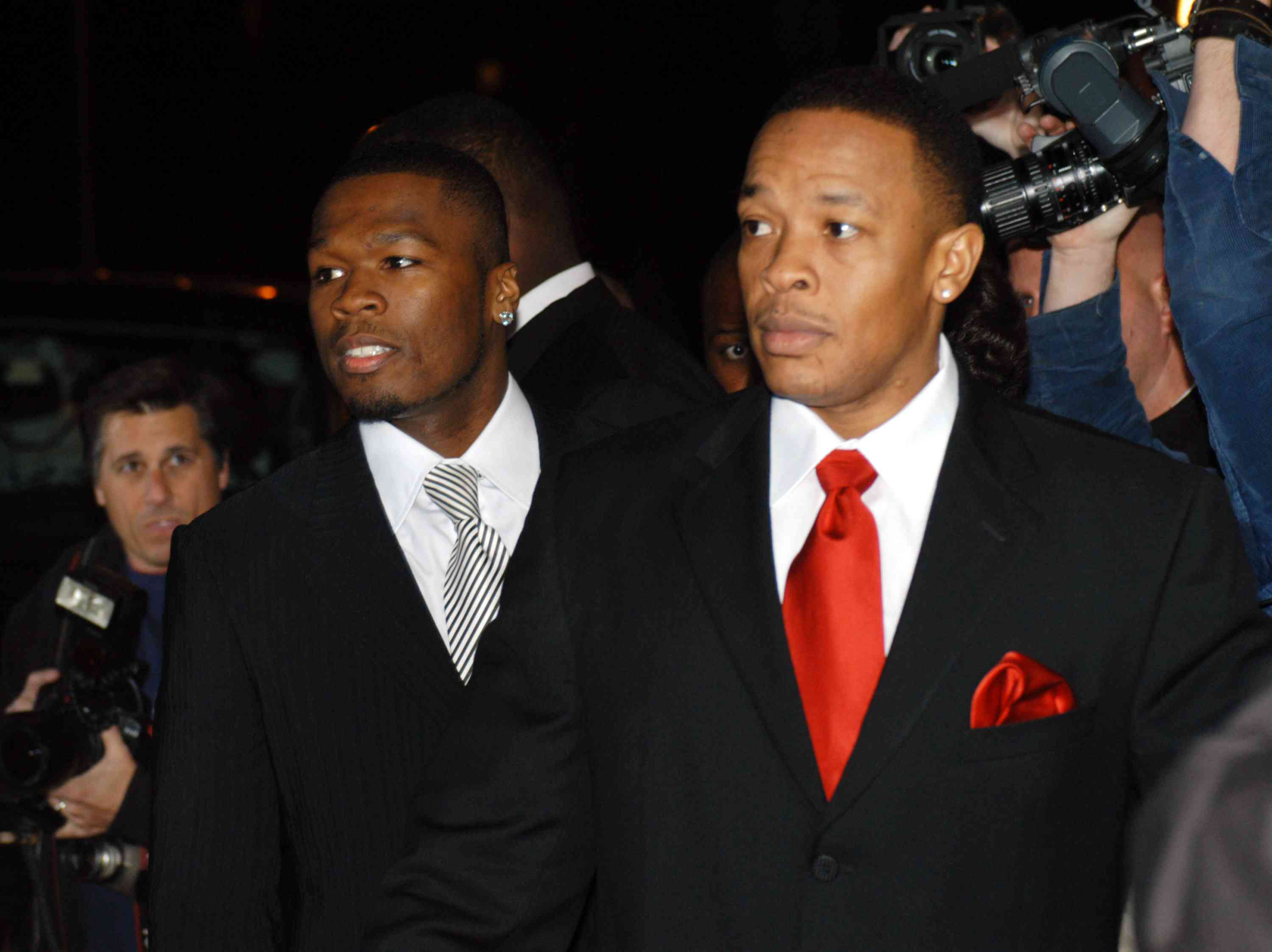 50 cent and dr dre