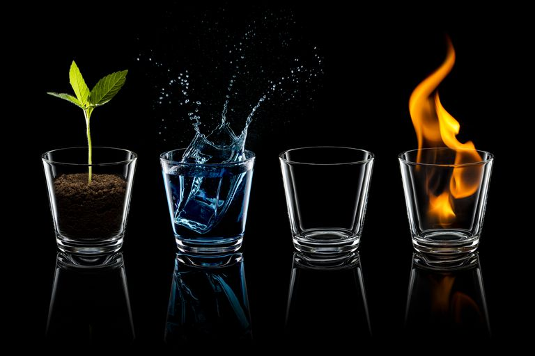 The Elements - Fire, Earth, Air and Water