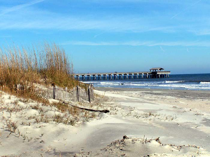 Seascape Reference Photos for Artists: Tybee Island Beach 3
