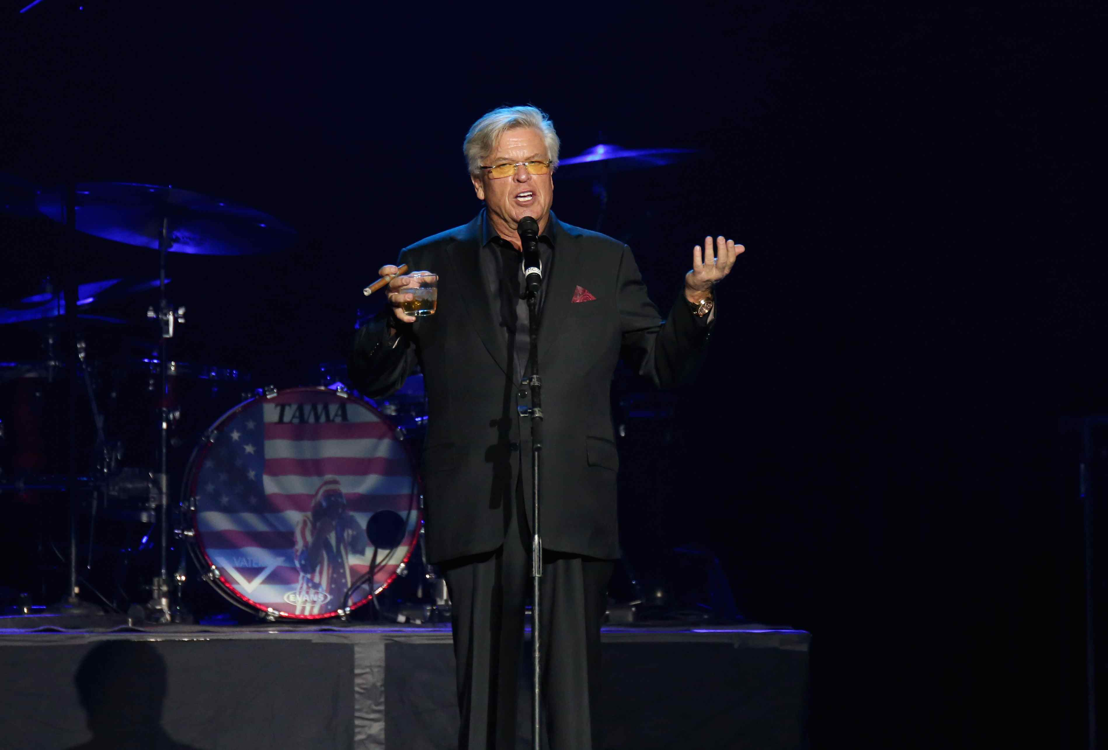 Comedian Ron White performs during 'Vegas Strong - A Night of Healing'