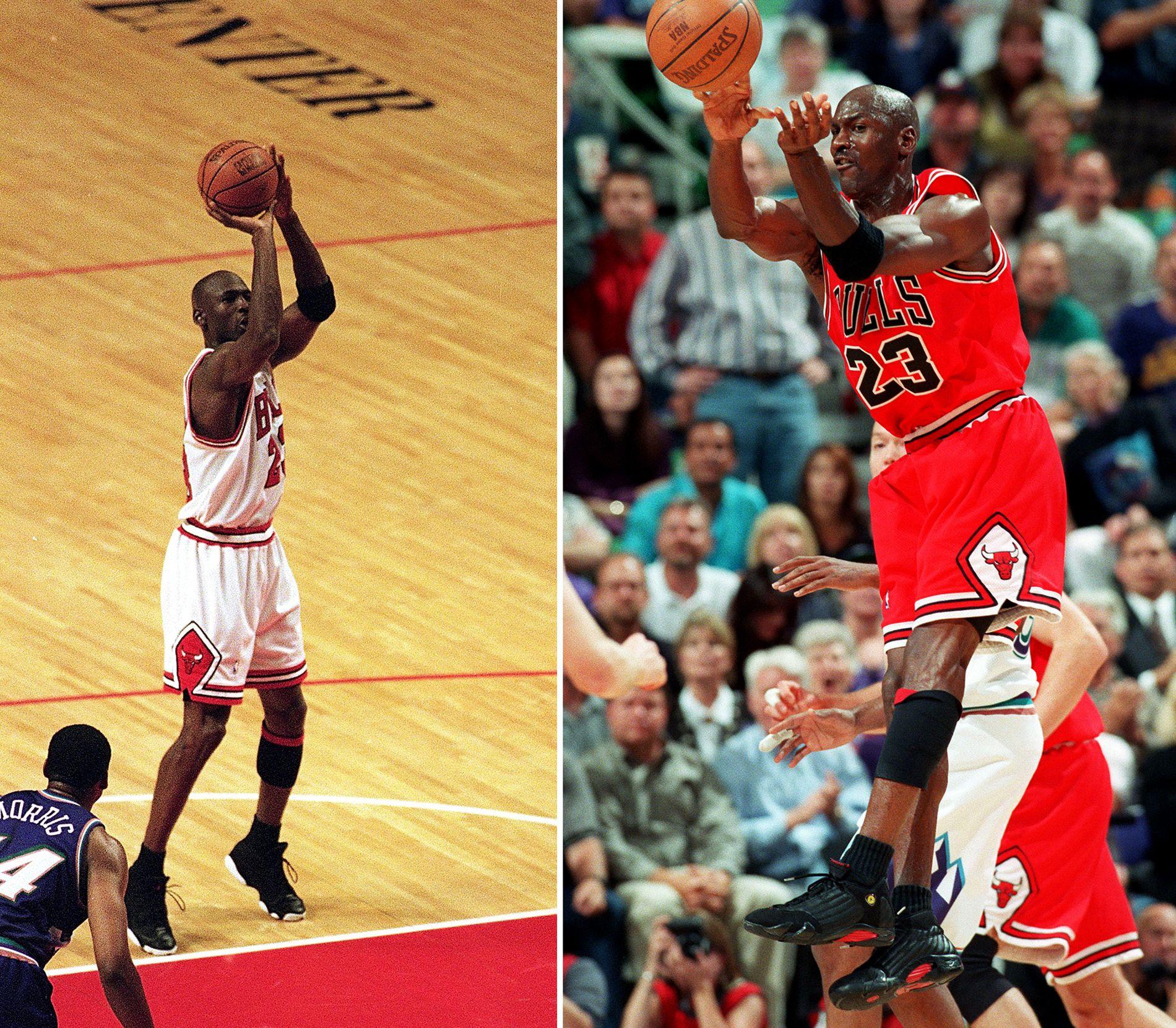 5e033c6c9e00d1 Michael Jordan s NBA Finals Sneakers